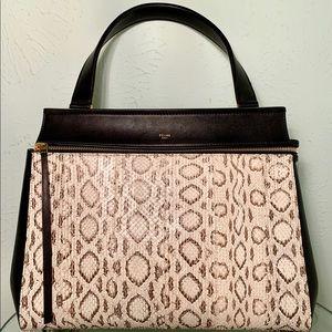 Authentic Céline Python Edge Bag